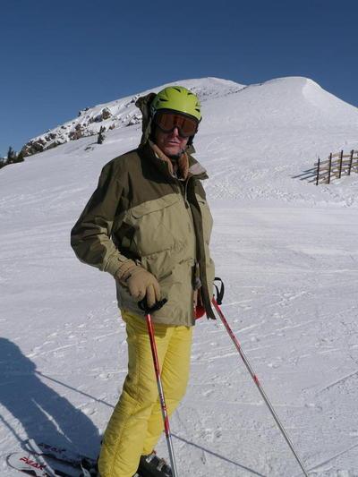 Jim at Lake Louise, Alberta, Canada