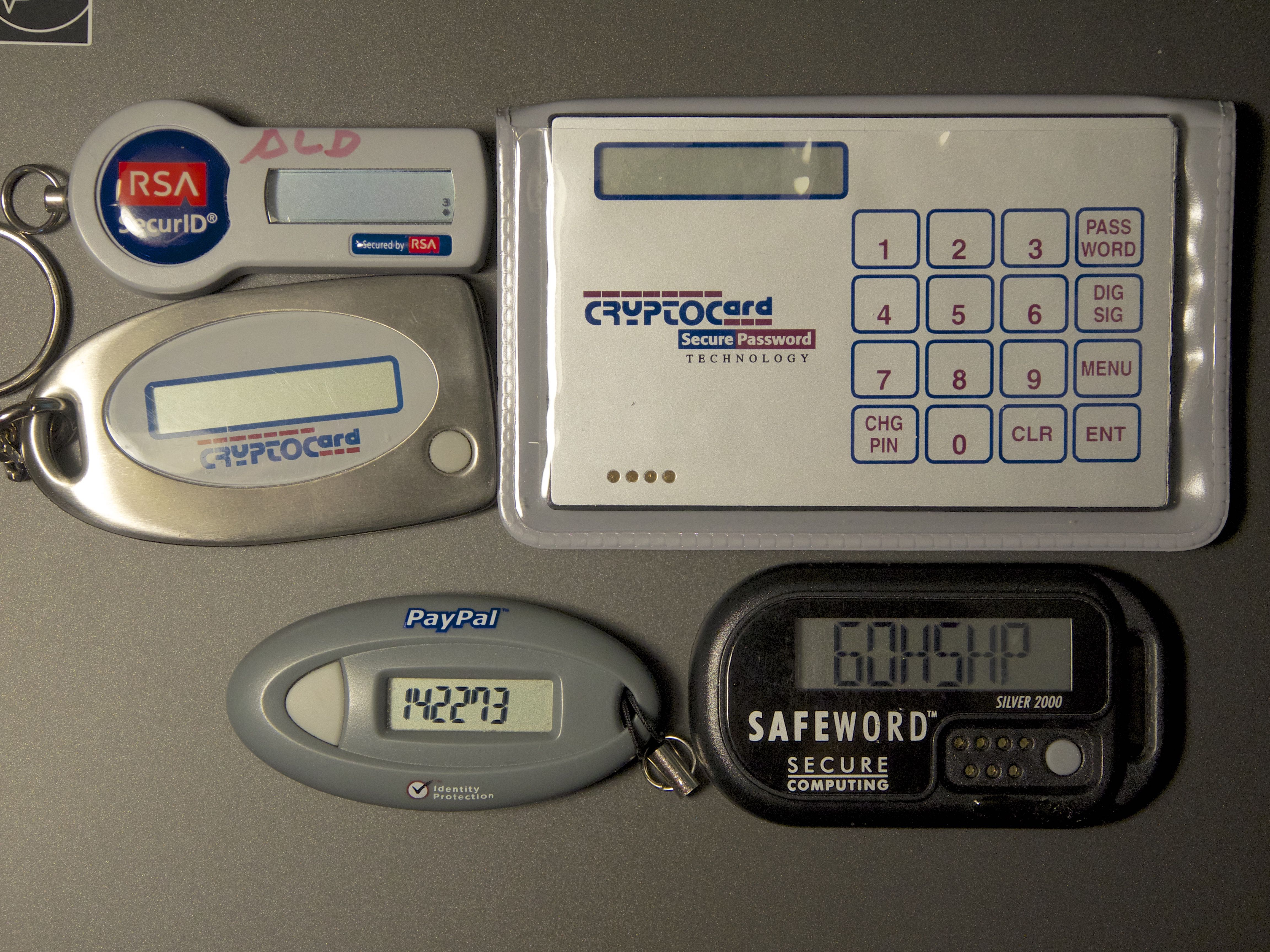 One-time-password tokens