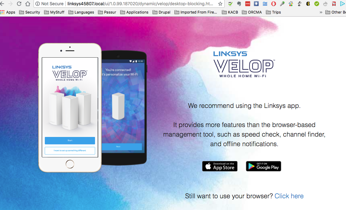 For WiFi, the Linksys VELOP is the way to go | Jim Rome's