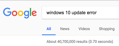 23million Windows Update errors
